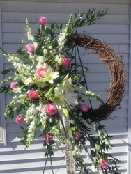 Eternal Grapevine Wreath  your flower shop in Wyckoff, NJ