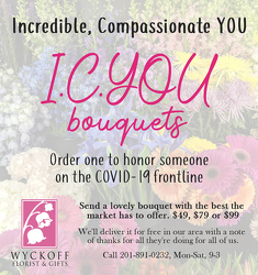 ICYOU BOUQUET your flower shop in Wyckoff, NJ