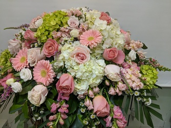 Loving Memory Casket Spray your flower shop in Wyckoff, NJ
